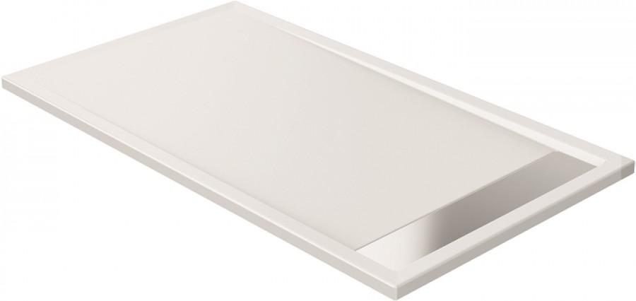 Receveur de douche coulement lin aire 80x160 for Miroir 80x160