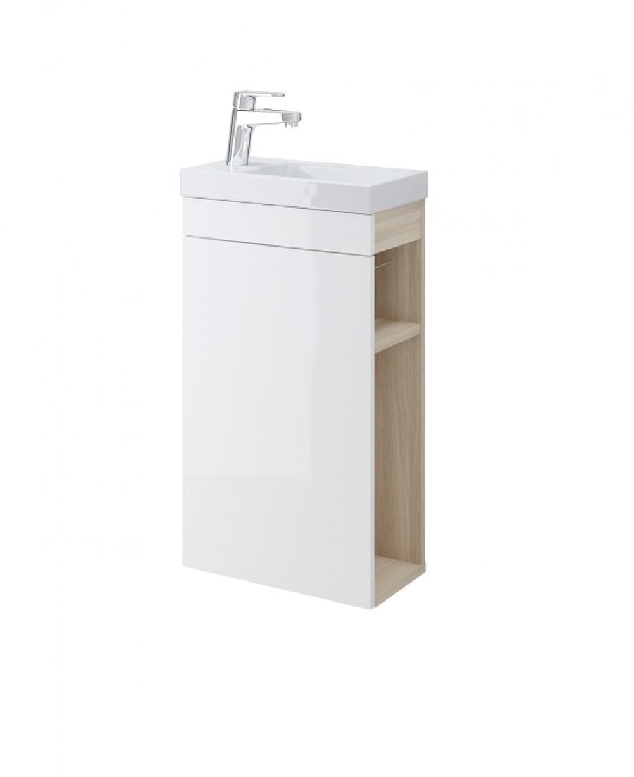 lave mains smart blanc meuble de salle de bain douche baignoire. Black Bedroom Furniture Sets. Home Design Ideas