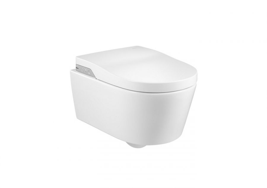 Wc japonais suspendu in wash inspira sans bride rimless for Meuble sanitaire wc