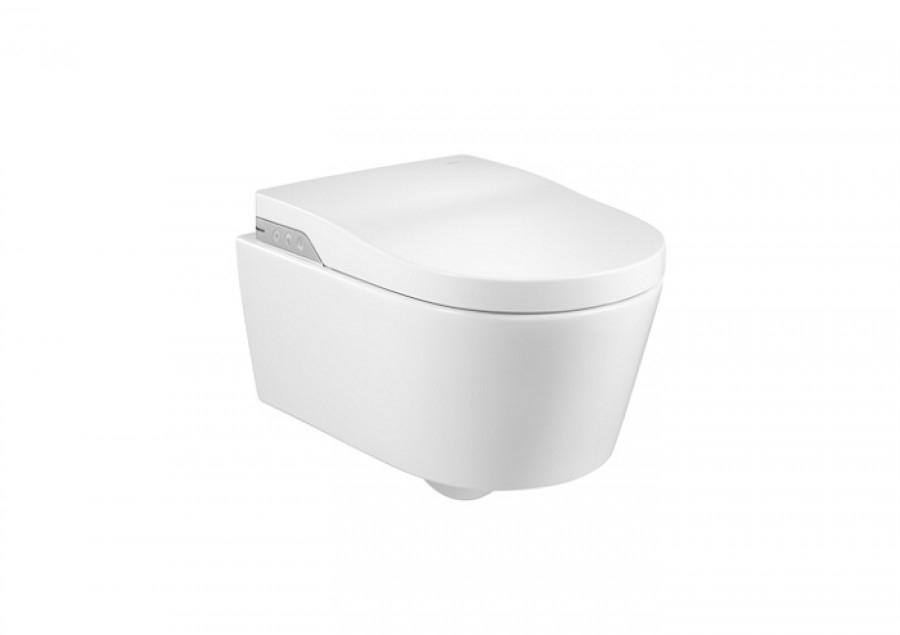 Wc japonais suspendu in wash inspira sans bride rimless for Meuble sanitaire wc