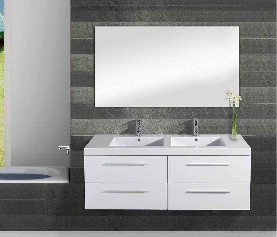 meuble double vasque saturn 140cm meuble de salle de bain douche baignoire. Black Bedroom Furniture Sets. Home Design Ideas