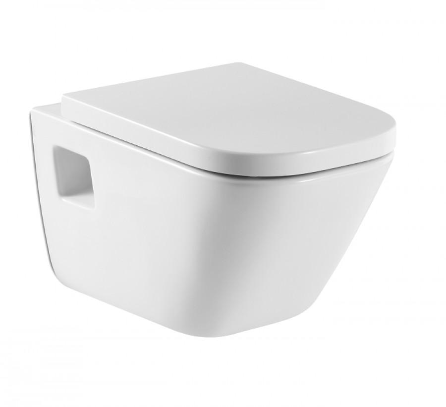 Old cuvette suspendue et abattant frein de chute the gap for Meuble sanitaire wc