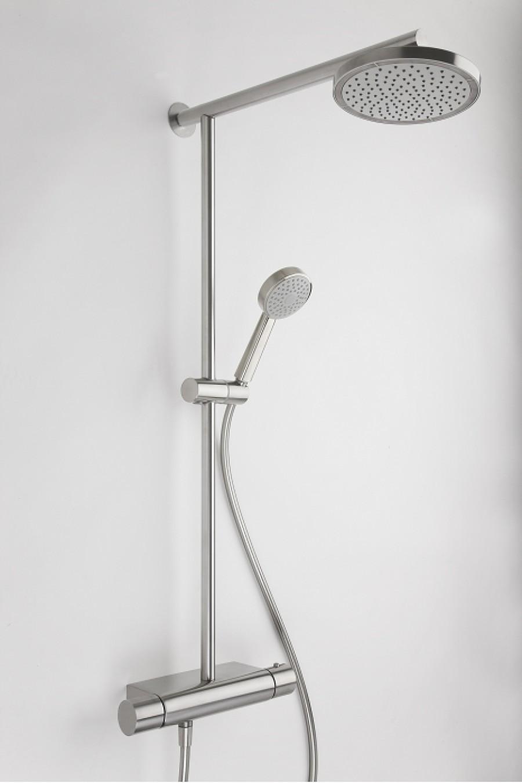 Colonne de douche thermostatique r006134 rem meuble de salle de bain - Colonne bain douche thermostatique ...