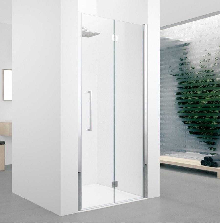Porte pivotante et pliante young 2 0 1bs 60cm transparent for Porte pliante 60 pouces