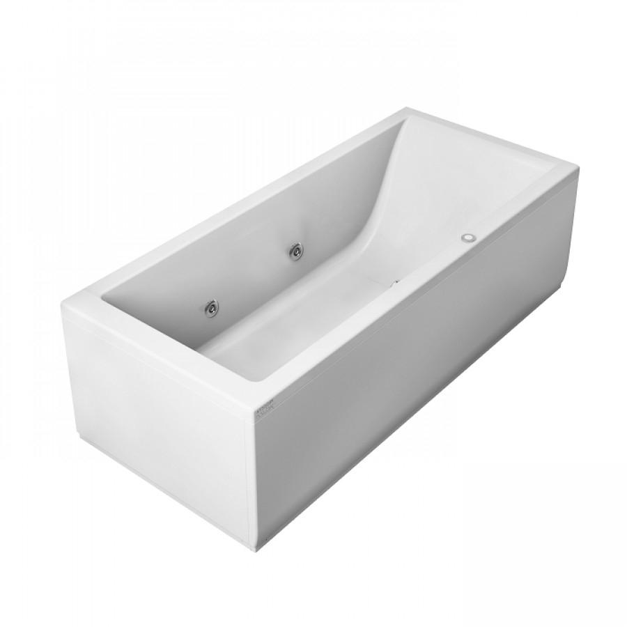 baignoire baln o lagoon 180x80 cm droite meuble de salle de bain douche. Black Bedroom Furniture Sets. Home Design Ideas