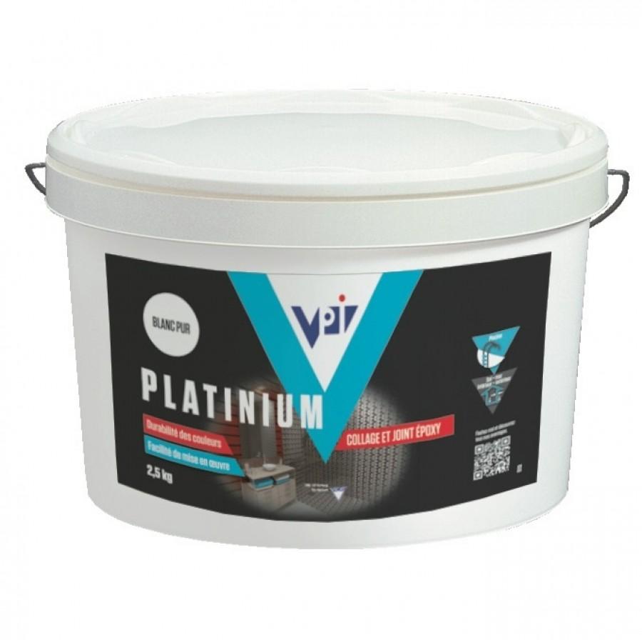 Colle et joint platinium gris 2 5 kg carrelage sanitaire for Carrelage sanitaire