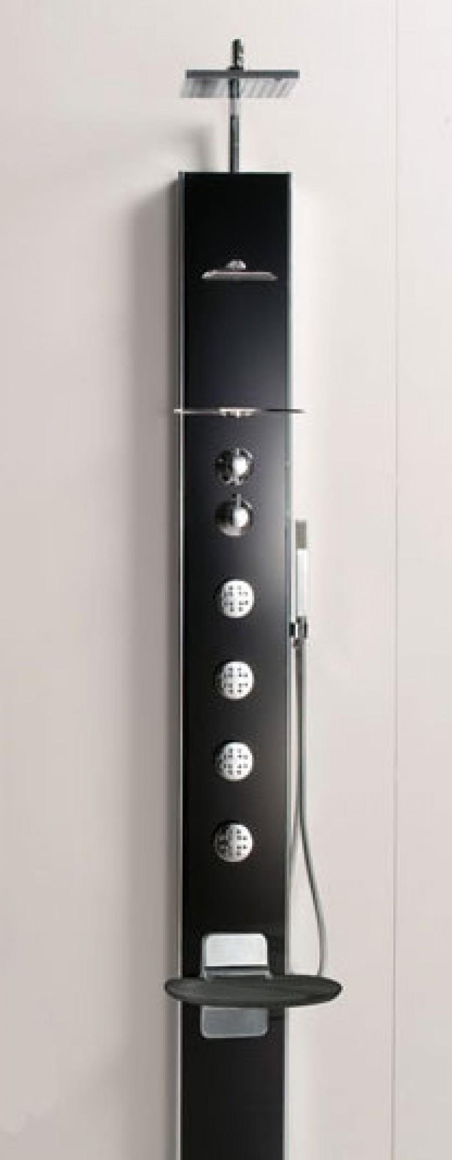 colonne de douche thermostatique hydromassante cascata 1 meuble de salle. Black Bedroom Furniture Sets. Home Design Ideas