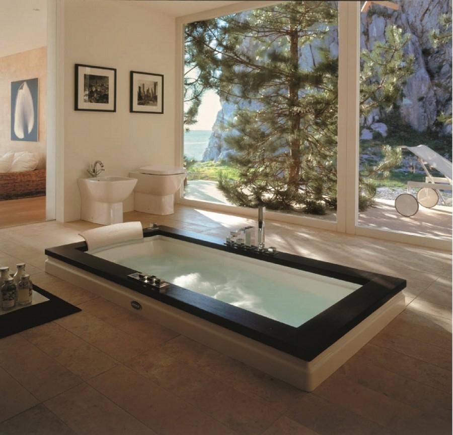 baignoire baln o aura uno 180x90 weng meuble de salle de bain douche. Black Bedroom Furniture Sets. Home Design Ideas