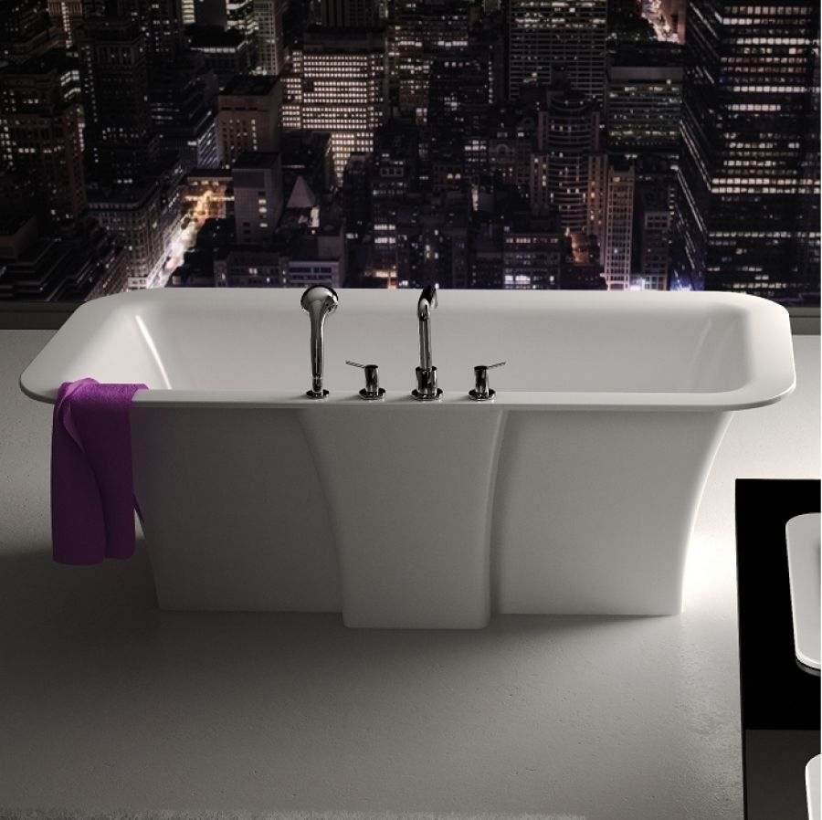 baignoire il t design cedam 180x90 meuble de salle de bain douche baignoire. Black Bedroom Furniture Sets. Home Design Ideas