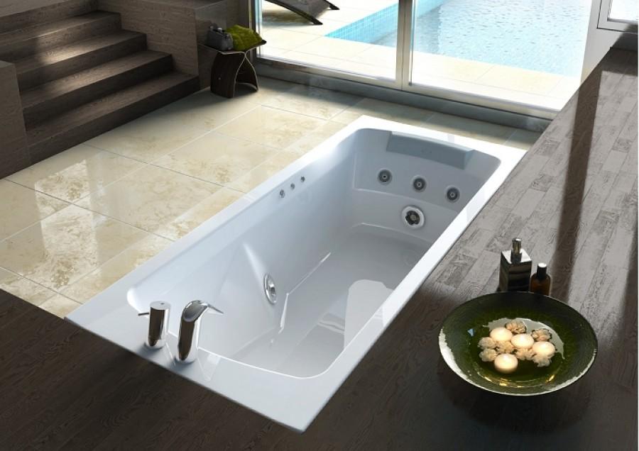 Baignoire baln o conforto sans tablier 170x75 meuble de - Baignoire balneo destockage ...