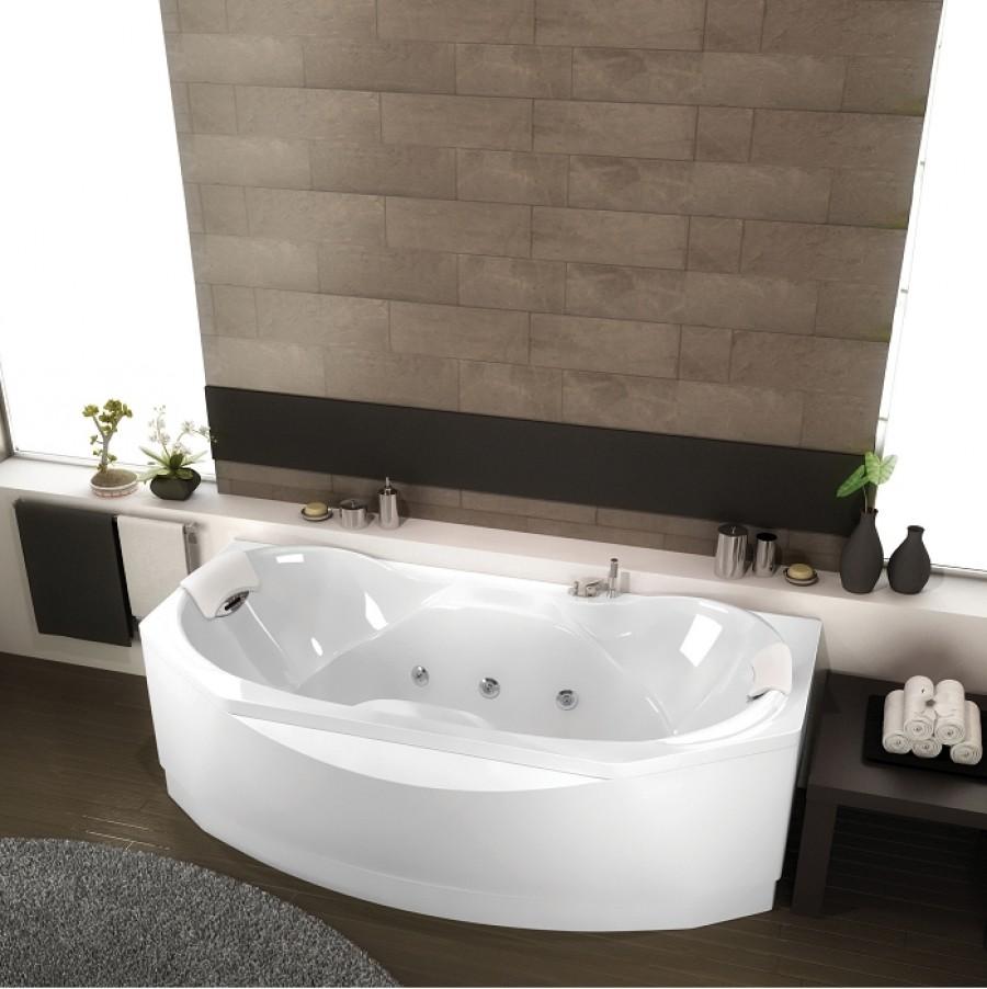 Old baignoire baln o ergonomique d 39 angle 140x140 concept bien etre meuble for Comdestockage baignoire balneo