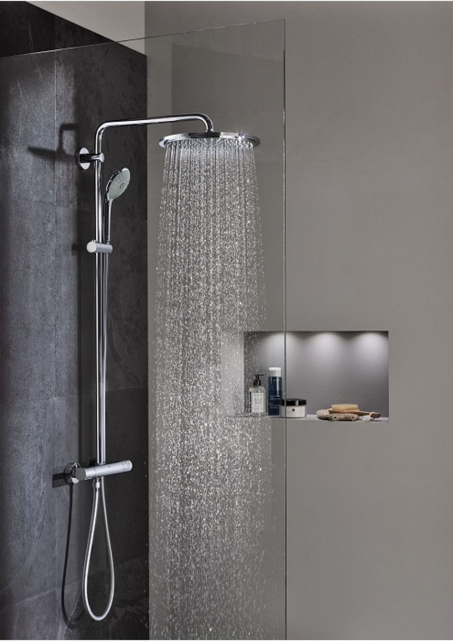 colonne de douche euphoria xxl 310 grohe meuble de salle de bain douche baignoire. Black Bedroom Furniture Sets. Home Design Ideas