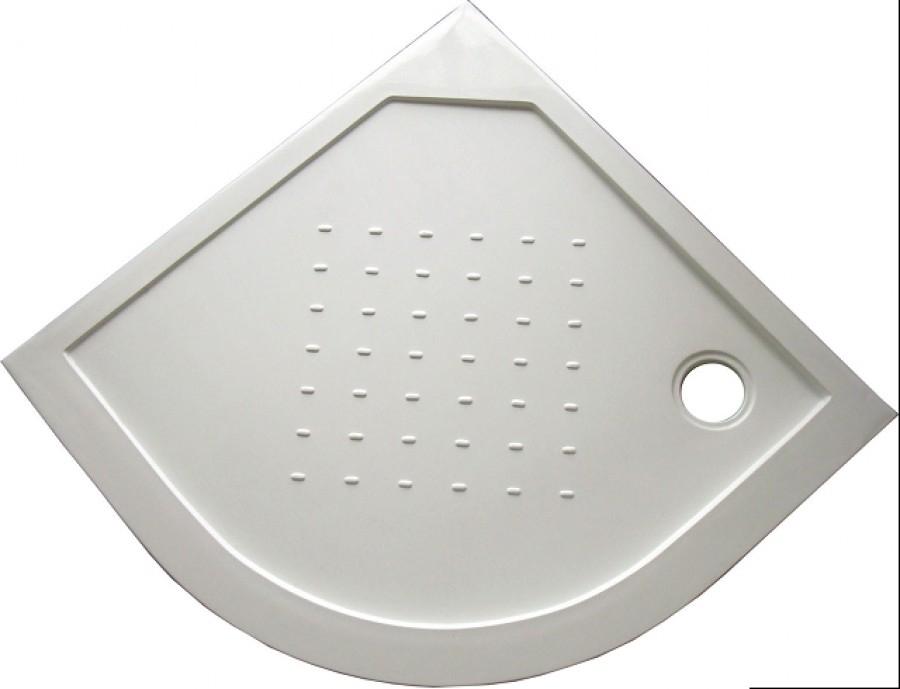 Receveur de douche 90x90 1 4 de rond en b ton de synth se - Receveur de douche en beton de synthese ...