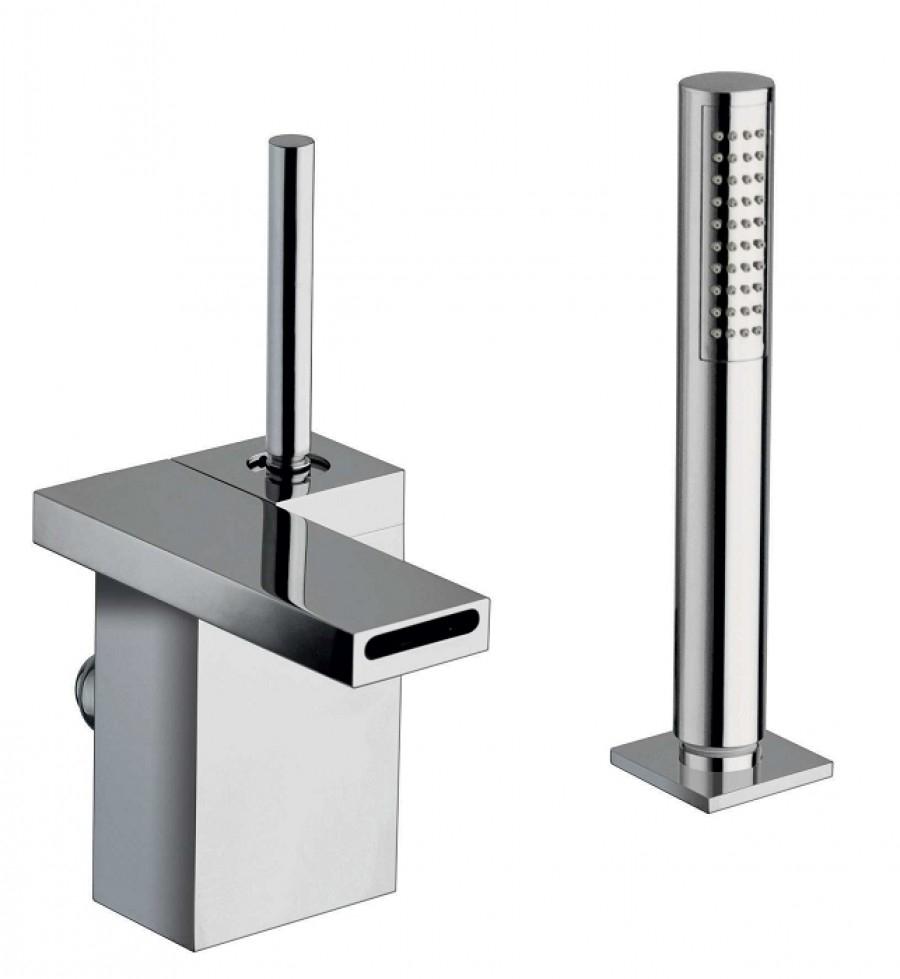 Mitigeur bain douche cascade sur gorge modul meuble de salle de bain - Robinetterie cuisine professionnelle ...
