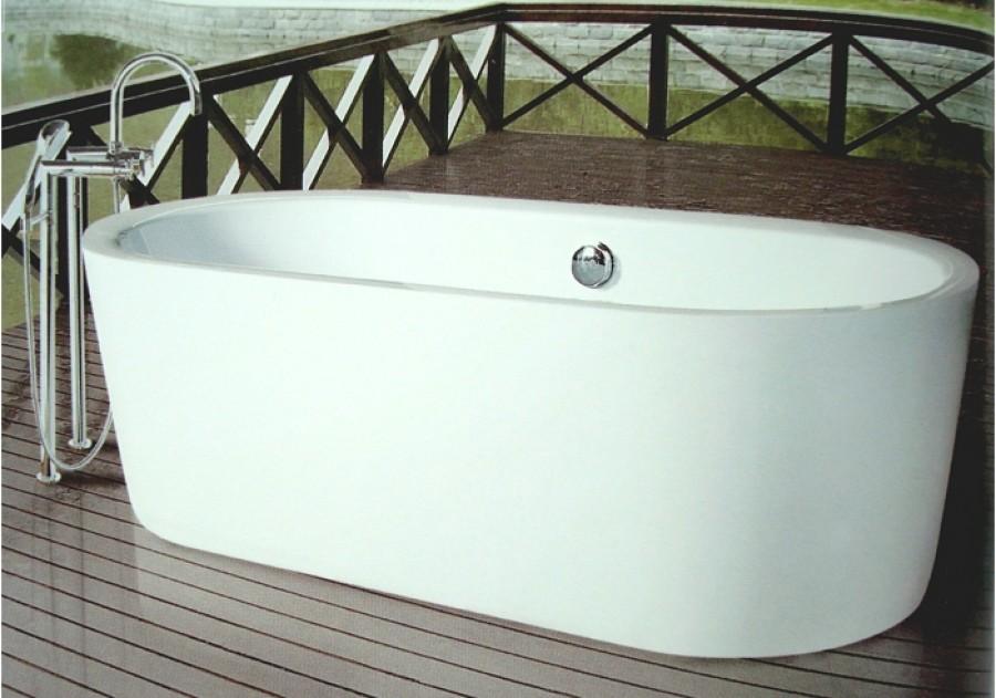 baignoire ilot ovale monobloc meuble de salle de bain douche baignoire. Black Bedroom Furniture Sets. Home Design Ideas