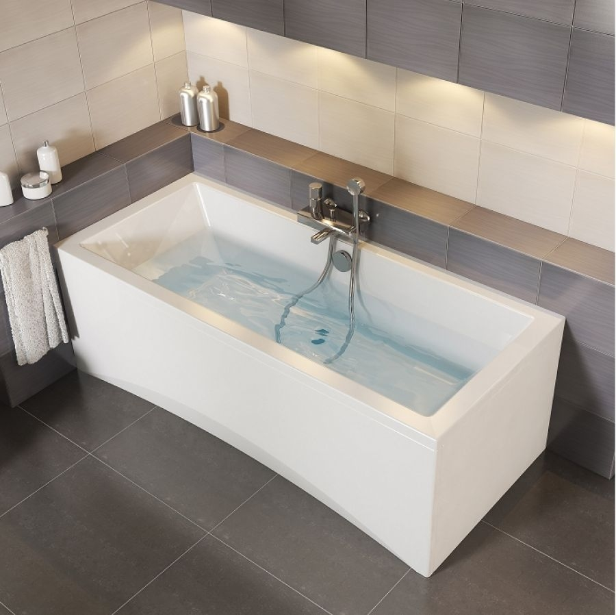 baignoire nue rectangulaire 170x75 meuble de salle de bain douche baignoire. Black Bedroom Furniture Sets. Home Design Ideas