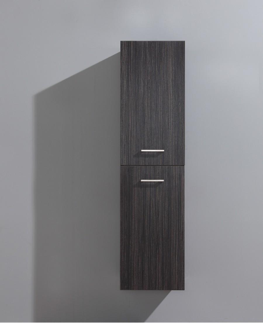 Colonne de salle de bain jupiter 135cm chocolatsanitaire for Meuble de douche