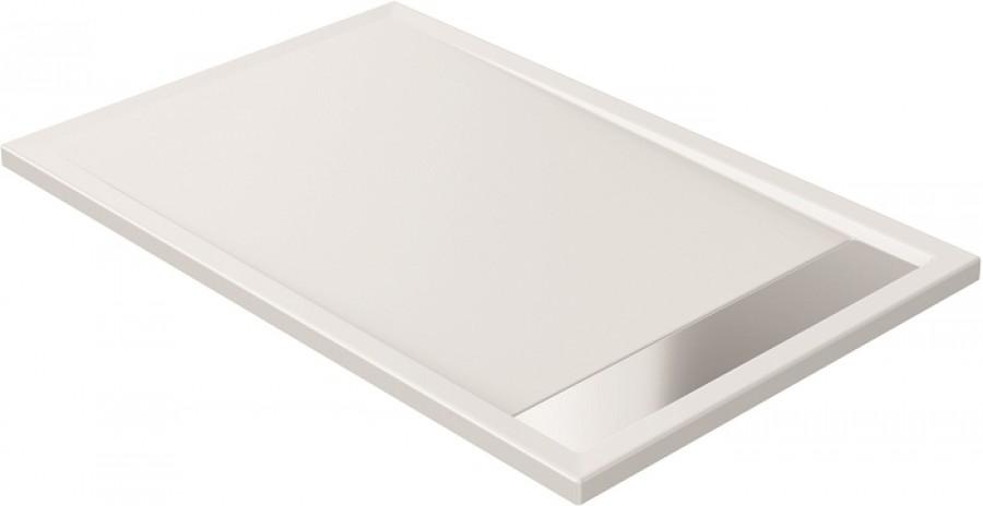 Receveur de douche coulement lin aire 90x140 for Miroir 90x140