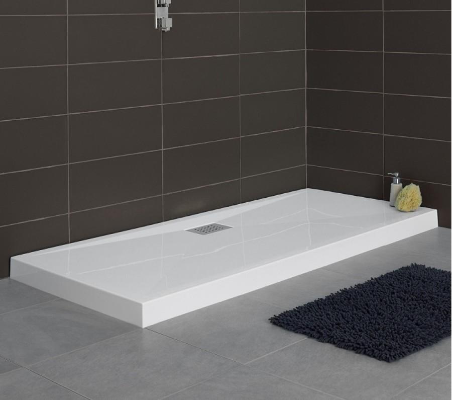 receveur rectangle 70x90 kinesurf blanc. Black Bedroom Furniture Sets. Home Design Ideas