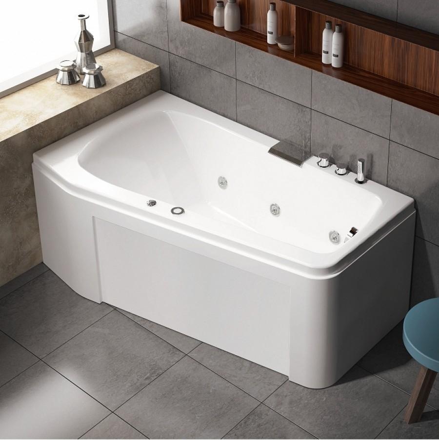 Tablier retour 90cm pour baignoire economique star for Meuble de baignoire