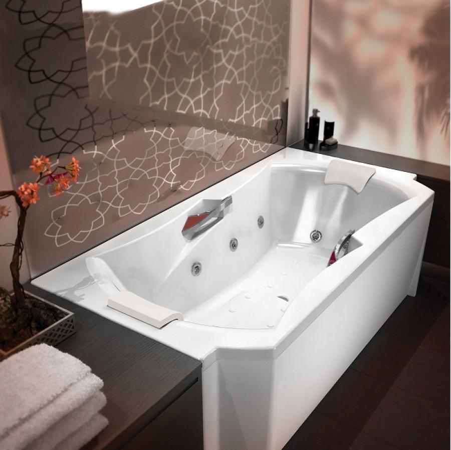 Baignoire baln o emotion 190x95 concept detente meuble de salle de bain for Comdestockage baignoire balneo