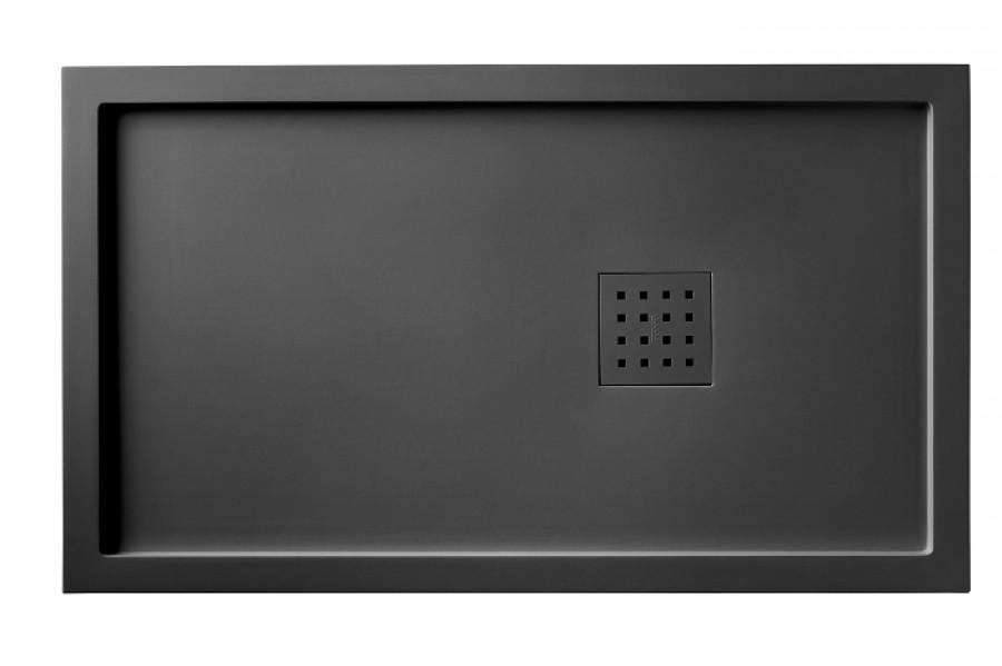 receveur de douche 70x120 liso enmarcado meuble de salle de bain douche. Black Bedroom Furniture Sets. Home Design Ideas