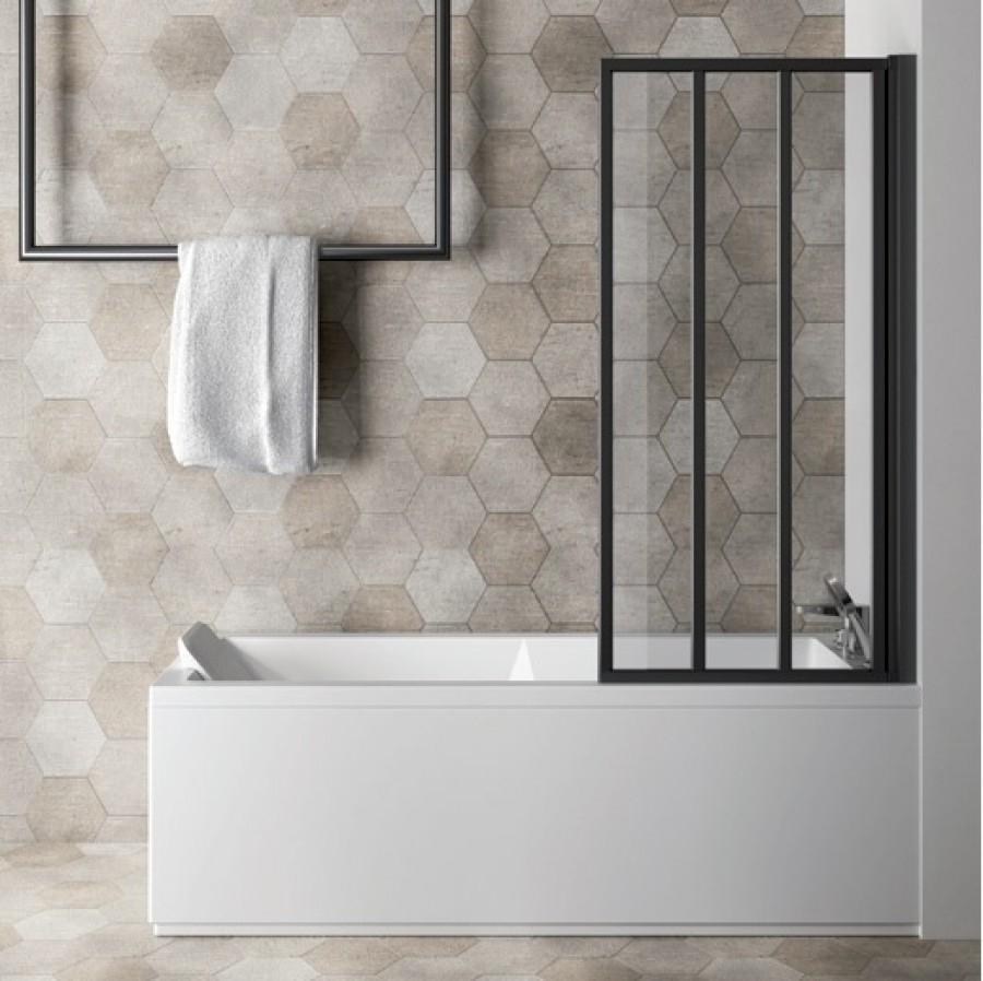 paroi de baignoire loft screen pivotante jacuzzi meuble de salle de bain. Black Bedroom Furniture Sets. Home Design Ideas