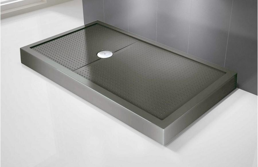 Receveur de douche rectangulaire olympic plus gris h12 Receveur baignoire