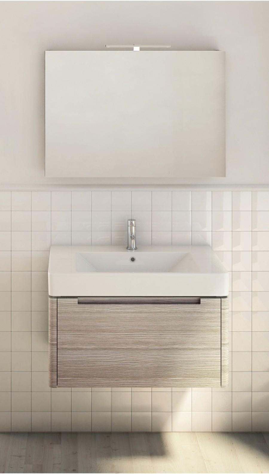 Meuble simple vasque 80cm otto adattocasa for Otto s yverdon meubles