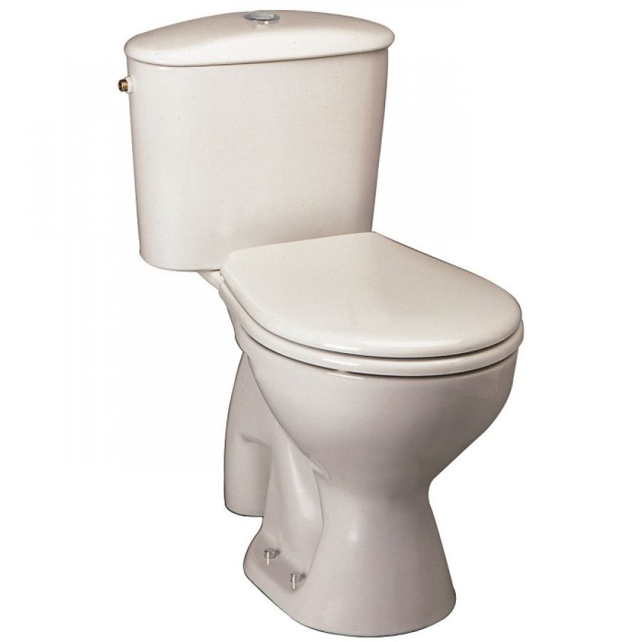 Pack WC sortie verticale Ulysse Blanc P940401Sanitairefr  Meuble de