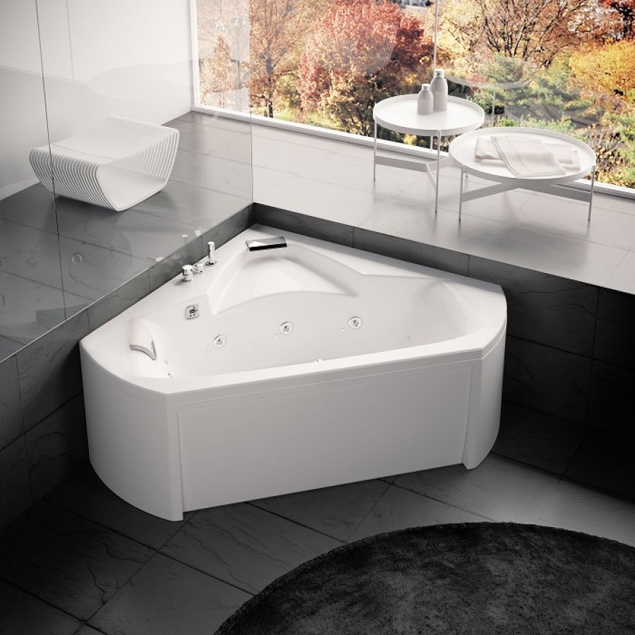 baignoire baln o pure design 140x140 concept detente meuble de salle de bain. Black Bedroom Furniture Sets. Home Design Ideas