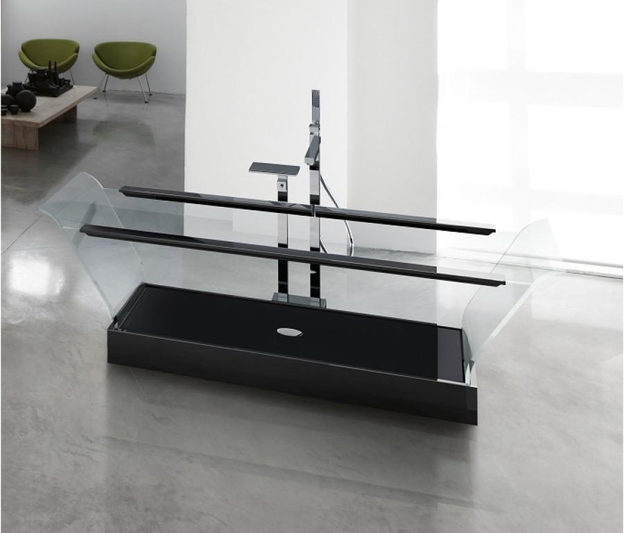 baignoire cristal 1 200x80 coloris meuble de salle de bain douche baignoire. Black Bedroom Furniture Sets. Home Design Ideas