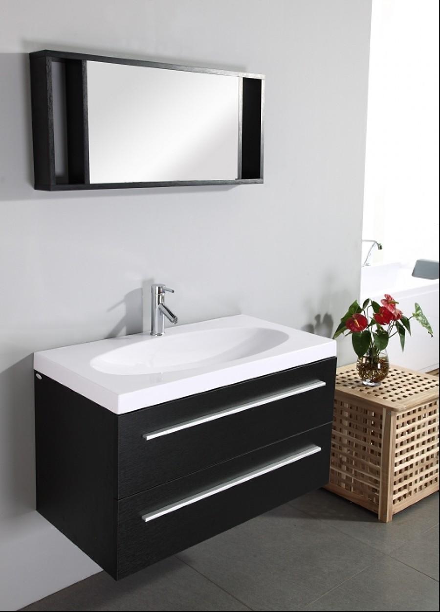 Meuble simple vasque uranus meuble de salle for Meuble sanitaire