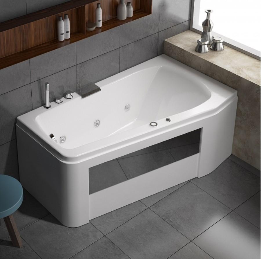 baignoire baln o asym trique star star eau tablier bi. Black Bedroom Furniture Sets. Home Design Ideas