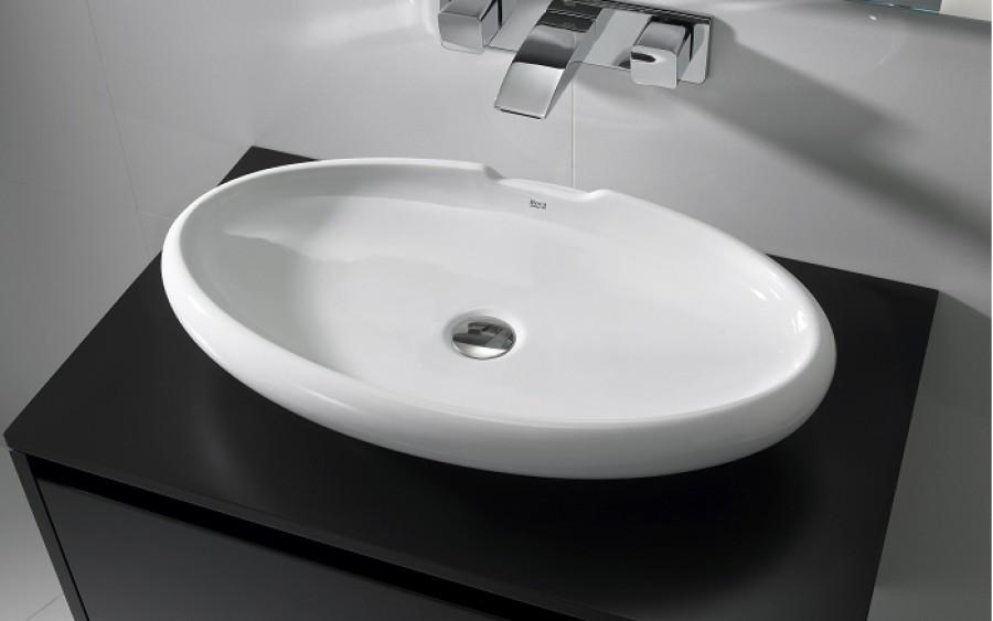Vasque 224 Poser En C 233 Ramique Urbi 5 Rocasanitaire Fr