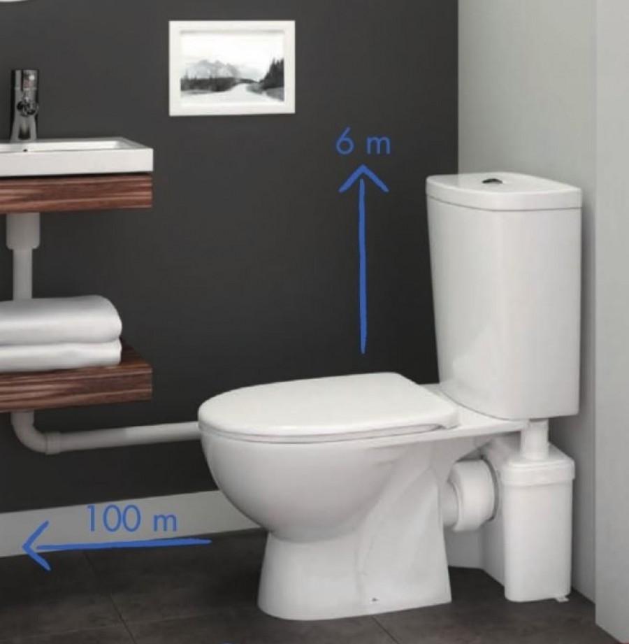 Broyeur 2 entr es w12p meuble de for Meuble de baignoire