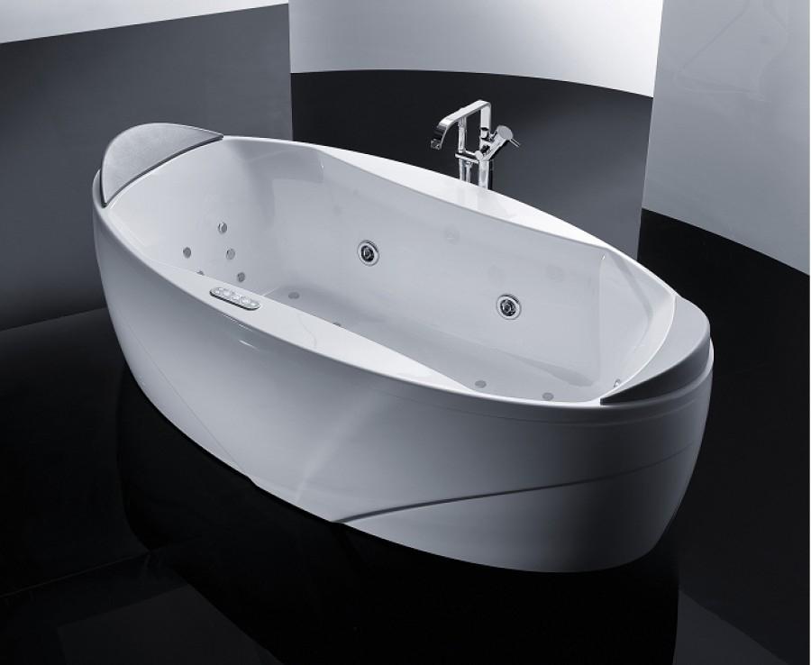 Baignoire baln o elysium x1 version meuble de salle de ba - Baignoire balneo destockage ...