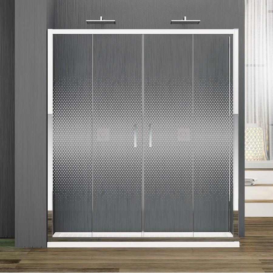 porte coulissante zephyros 2a 150cm verre s rigraphi. Black Bedroom Furniture Sets. Home Design Ideas