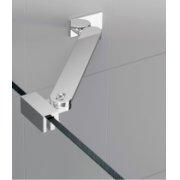 Barre de renfort d'angle 25 cm pour paroi de douche fixe