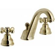 Mélangeur lavabo 3 trous rétro vieux bronze Grazia GRC5011/1BR