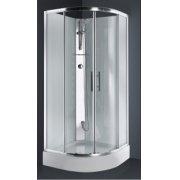 Cabine de douche 1/4 de rond CARAT 90x90 cm Thermostatique
