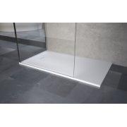 Receveur Extraplat NOVOSOLID Blanc Mat 80x80 cm