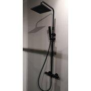 Colonne de douche avec douche de tête EASY 2 Noir*