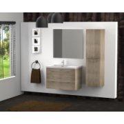 Meuble simple vasque 77 Jupiter 2.0 Bois Clair SANS miroir