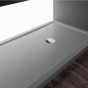 Receveur Olympic Plus Gris - Hauteur 4.5 cm - 110x70 cm