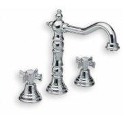 Mélangeur lavabo 3 trous CHAMBORD rétro chromé - CH11251