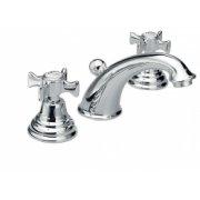 Mélangeur lavabo 3 trous CHAMBORD rétro chromé - CH11351