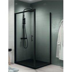 Porte de douche pivotante seule Zephyros G Profilé Noir