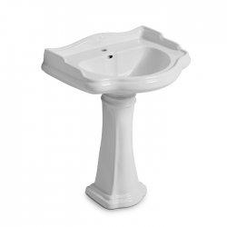 Colonne céramique pour lavabo Chambord
