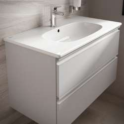 Meuble TESI Ideal Standard 60cm Blanc Laqué